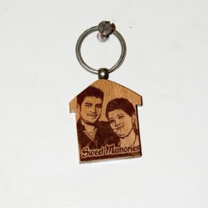 Engraved Photo Keychains